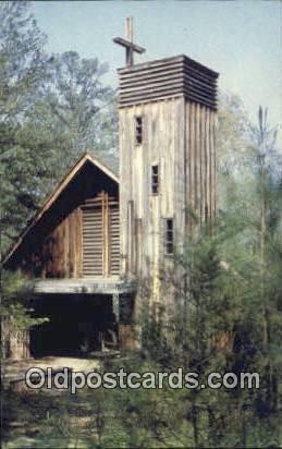 Brewer Chapel - Winnataska, Alabama AL Postcard