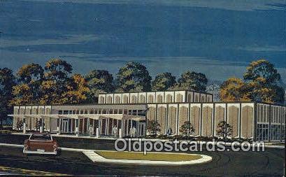 Gadsden Public Library - Alabama AL Postcard