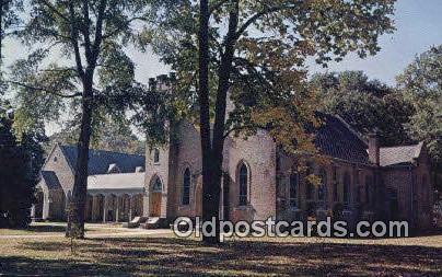 St Stephen's Episcopal Church - Eutaw, Alabama AL Postcard