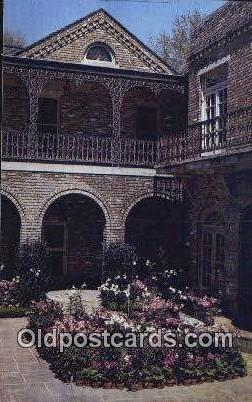 Court Yard, Bellingrath Gardens - Mobile, Alabama AL Postcard