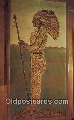 Big Chief Tuscumbia - Alabama AL Postcard
