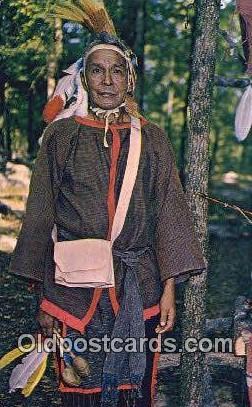 Medicine Man Norman McGhee - Atmore, Alabama AL Postcard