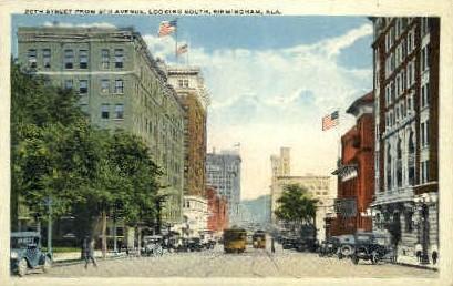 20th St.  - Birmingham, Alabama AL Postcard