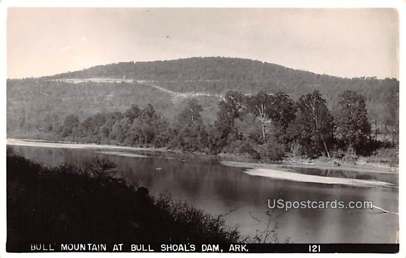Bull Mountain - Bull Shoals Dam, Arkansas AR Postcard