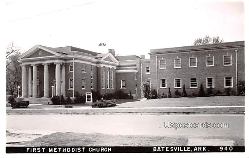 First Methodist Church - Batesville, Arkansas AR Postcard
