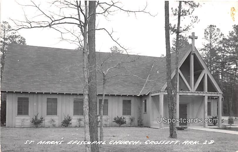 St Mark's Episcopal Church - Crossett, Arkansas AR Postcard