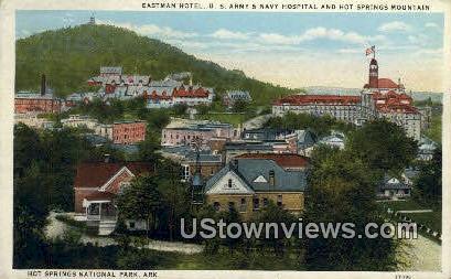 Eastman Hotel - Hot Springs National Park, Arkansas AR Postcard