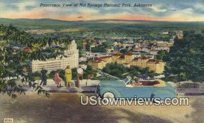 Hot Springs National Park, Arkansas,     ;     Hot Springs National Park, AR Postcard