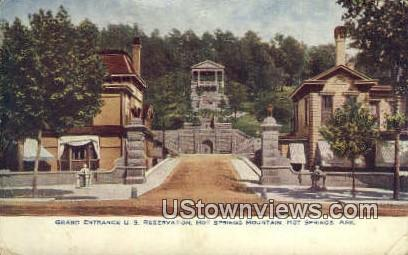 US Reservation - Hot Springs, Arkansas AR Postcard