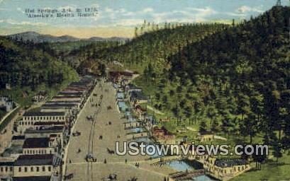 Hot Springs, Ark,     ;     Hot Springs, Arkansas Postcard