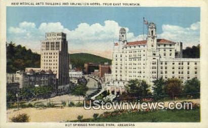 New Medical Arts Bldg, Arlington Hotel - Hot Springs National Park, Arkansas AR Postcard