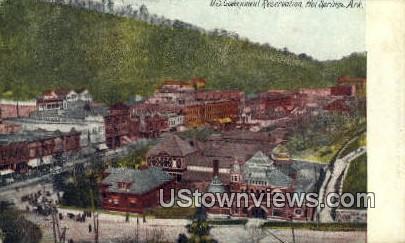 Hot Springs, Arkansas,     ;     Hot Springs, AR Postcard