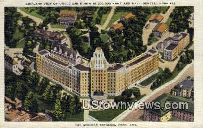 Army & Navy Gen Hospital - Hot Springs National Park, Arkansas AR Postcard