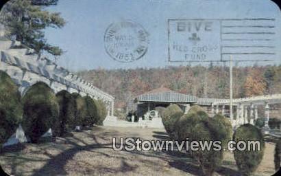 Mountain Valley Mineral Water Springs - Hot Springs National Park, Arkansas AR Postcard