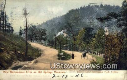 New Government Drive - Hot Springs, Arkansas AR Postcard