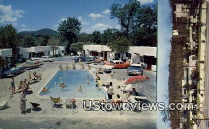 Jack Tar Hotel Courts & Bath House - Hot Springs National Park, Arkansas AR Postcard