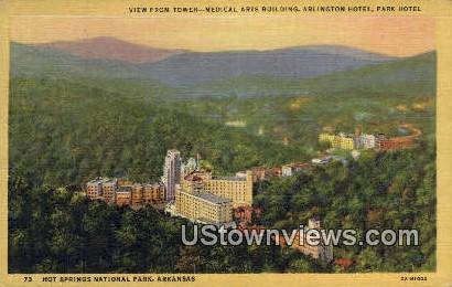 Medical Arts Bldg, Arlington Hotel - Hot Springs National Park, Arkansas AR Postcard
