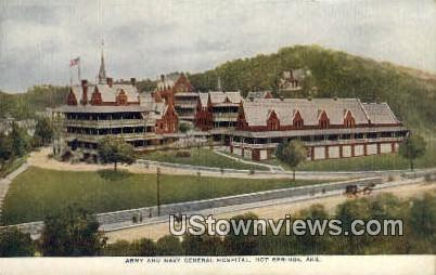 Army & Navy General Hospital - Hot Springs, Arkansas AR Postcard