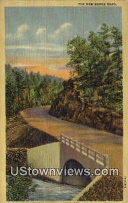 New Gorge Road - Hot Springs National Park, Arkansas AR Postcard
