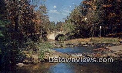 Gulpha Gorge Creek - Hot Springs National Park, Arkansas AR Postcard