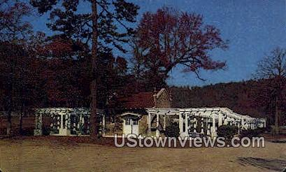 Mountain Valley Mineral Water Springs - Hot Springs, Arkansas AR Postcard