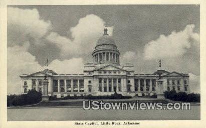 State Capitol - Little Rock, Arkansas AR Postcard
