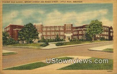 Dunbar High School - Little Rock, Arkansas AR Postcard