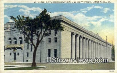 Albert Pike Consistory - Little Rock, Arkansas AR Postcard