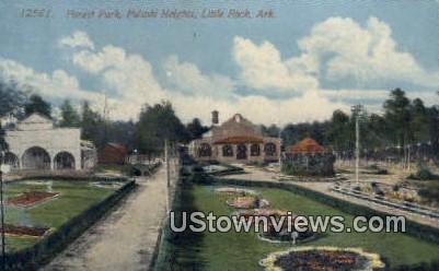 Forest Park, Pulaski Heights - Little Rock, Arkansas AR Postcard