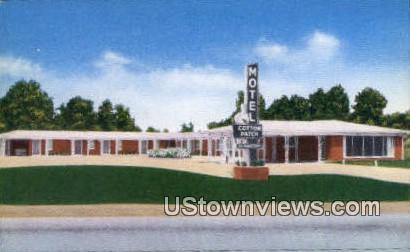 Cotton Patch Motel - Little Rock, Arkansas AR Postcard