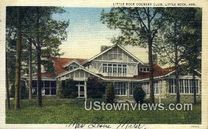 Little Rock Country Club - Arkansas AR Postcard