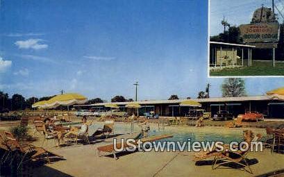 Howard Johnson Motor Lodge - Little Rock, Arkansas AR Postcard