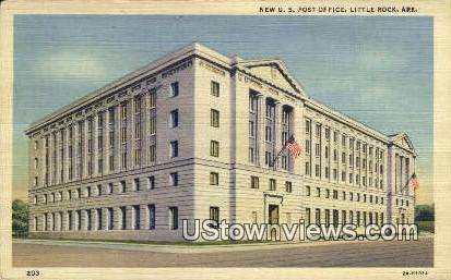New US Post Office - Little Rock, Arkansas AR Postcard