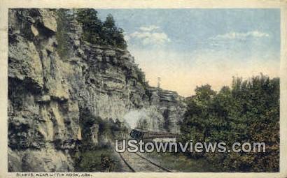 Bluffs - Little Rock, Arkansas AR Postcard