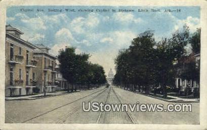 Capitol Ave - Little Rock, Arkansas AR Postcard