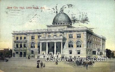 New City Hall - Little Rock, Arkansas AR Postcard