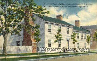 Arkansas Territorial Restoration - Little Rock Postcard