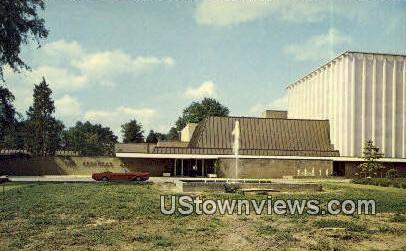 Arkansas Art Museum - Little Rock Postcard