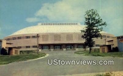 TH Barton Coliseum - Little Rock, Arkansas AR Postcard