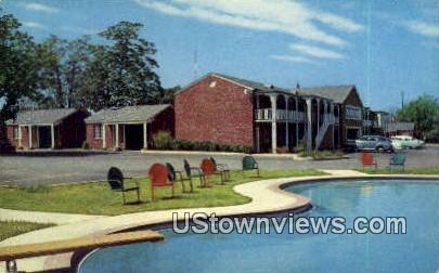 Magnolia Court - Little Rock, Arkansas AR Postcard