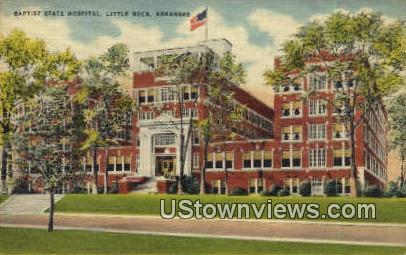 Baptist State Hospital - Little Rock, Arkansas AR Postcard