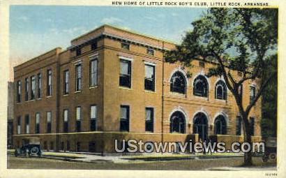 New Home of Little Rock Boy's Club - Arkansas AR Postcard