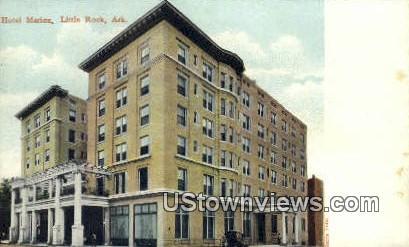 Hotel Marion - Little Rock, Arkansas AR Postcard