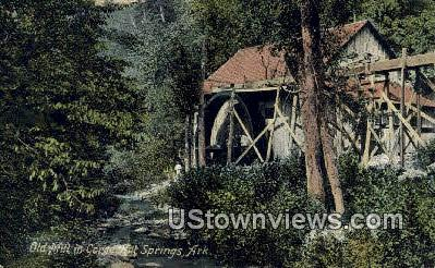Old Mill - Hot Springs, Arkansas AR Postcard