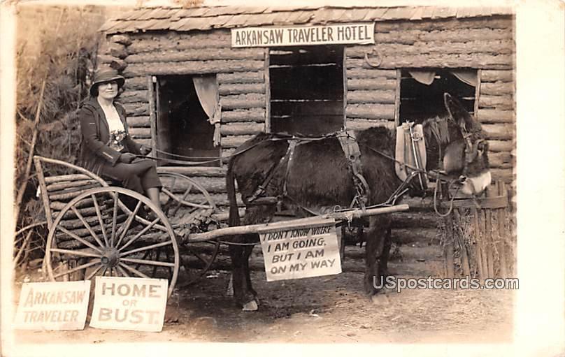 Arkansaw Traveler Hotel - Little Rock, Arkansas AR Postcard