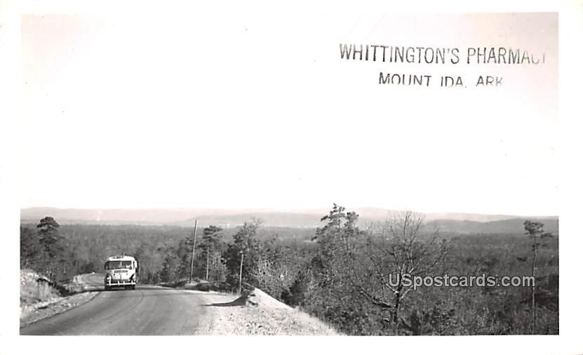Whittington's Pharmacy - Mount Ida, Arkansas AR Postcard