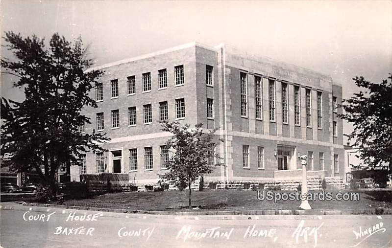 Court House - Mountain Home, Arkansas AR Postcard