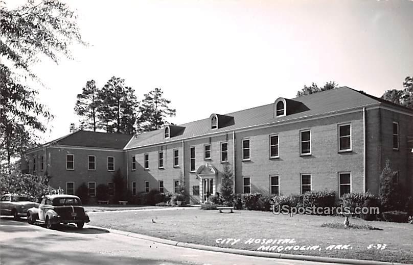 City Hospital - Magnolia, Arkansas AR Postcard