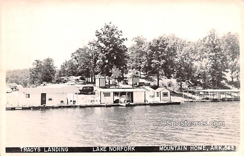 Tracys Landing - Mountain Home, Arkansas AR Postcard