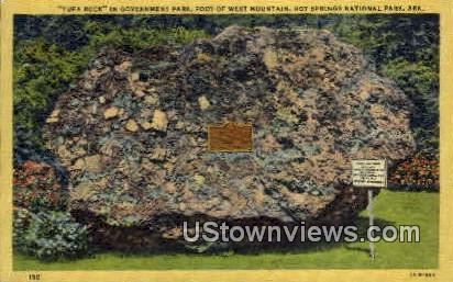 Tufa Rock - Hot Springs National Park, Arkansas AR Postcard